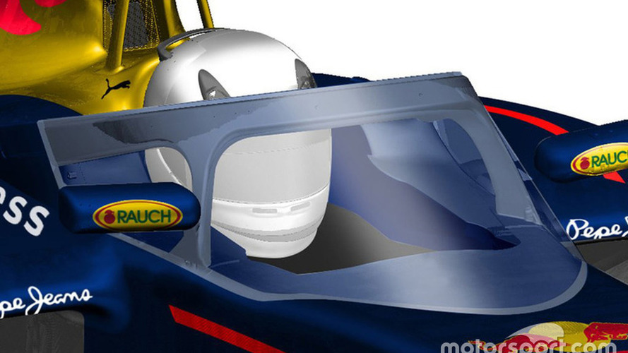 Red Bull reveals proposed new F1 canopy design