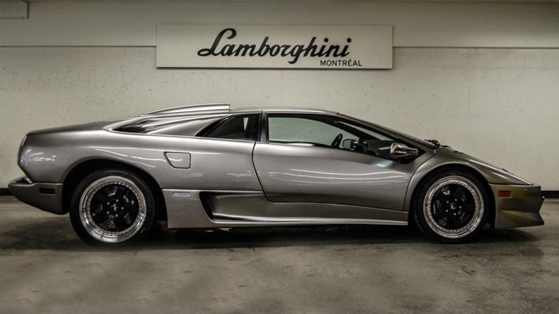 Pristine Lamborghini Diablo Sv With 1 1 Miles For Sale