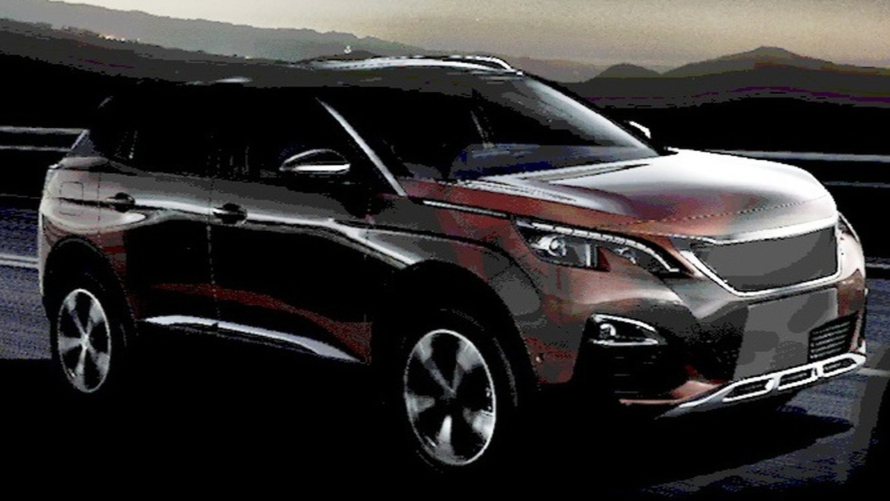 All-new Peugeot 3008 teaser (modified)