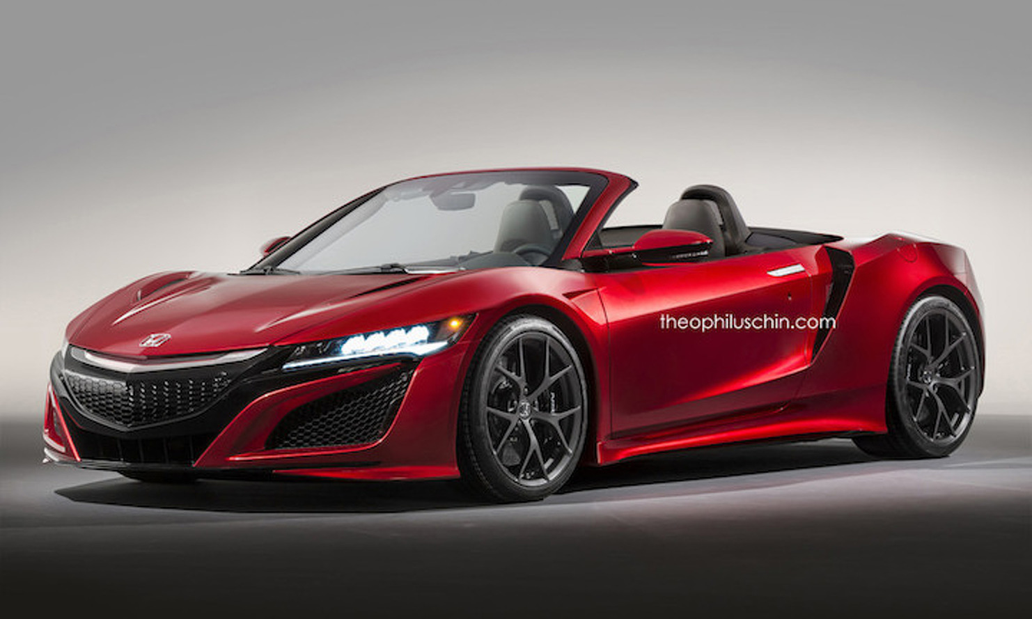 Acura NSX Roadster Concept Will Have You Wishing for the Real Thing
