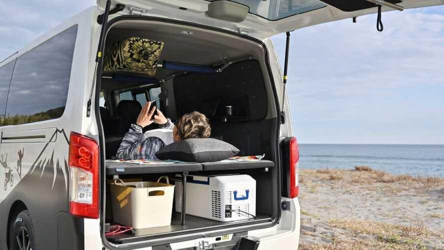 Nissan NV350 Caravan Mobility Concept: una autocaravana para todo
