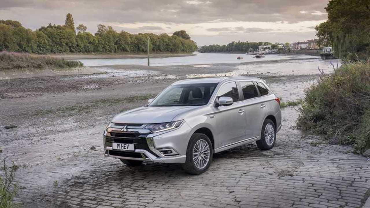 Mitsubishi Outlander PHEV in UK