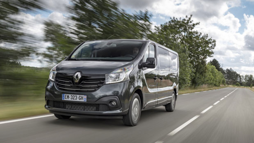 Renault Trafic SpaceClass, il van di lusso