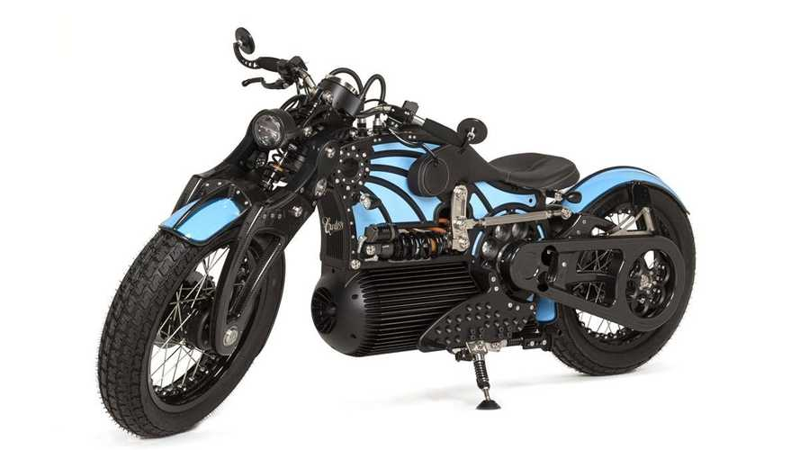 Curtiss Now Offers New Online Electric Motorcycle Custom Configurator