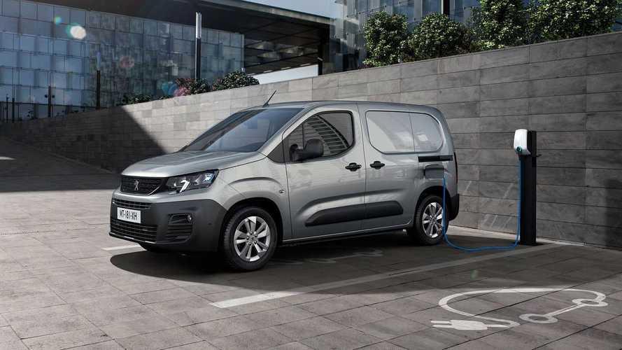 Peugeot e-Partner 2021: un nuevo vehículo comercial, 100% eléctrico