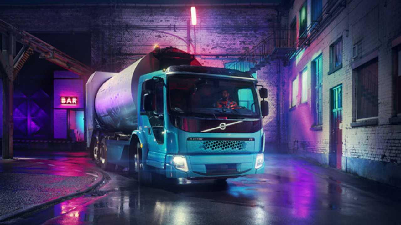 Volvo FE Electric, pesante e a batterie