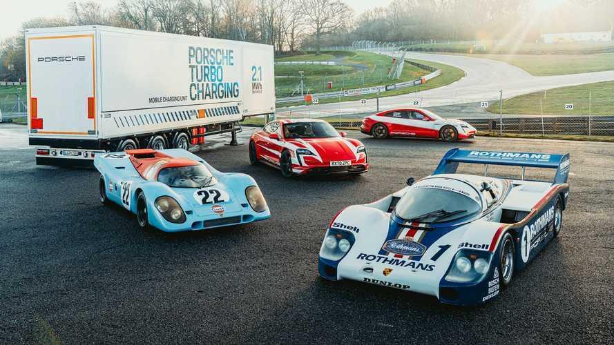 Porsche Taycan, 4S ve Turbo S modelleri ile 13 farklı rekor kırdı