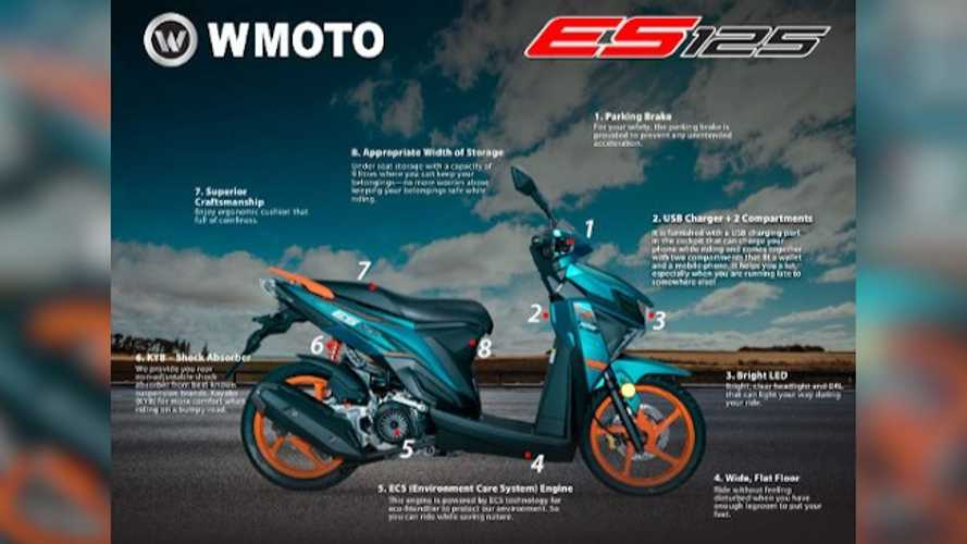 WMoto ES125 Scooter Launched In Malaysia