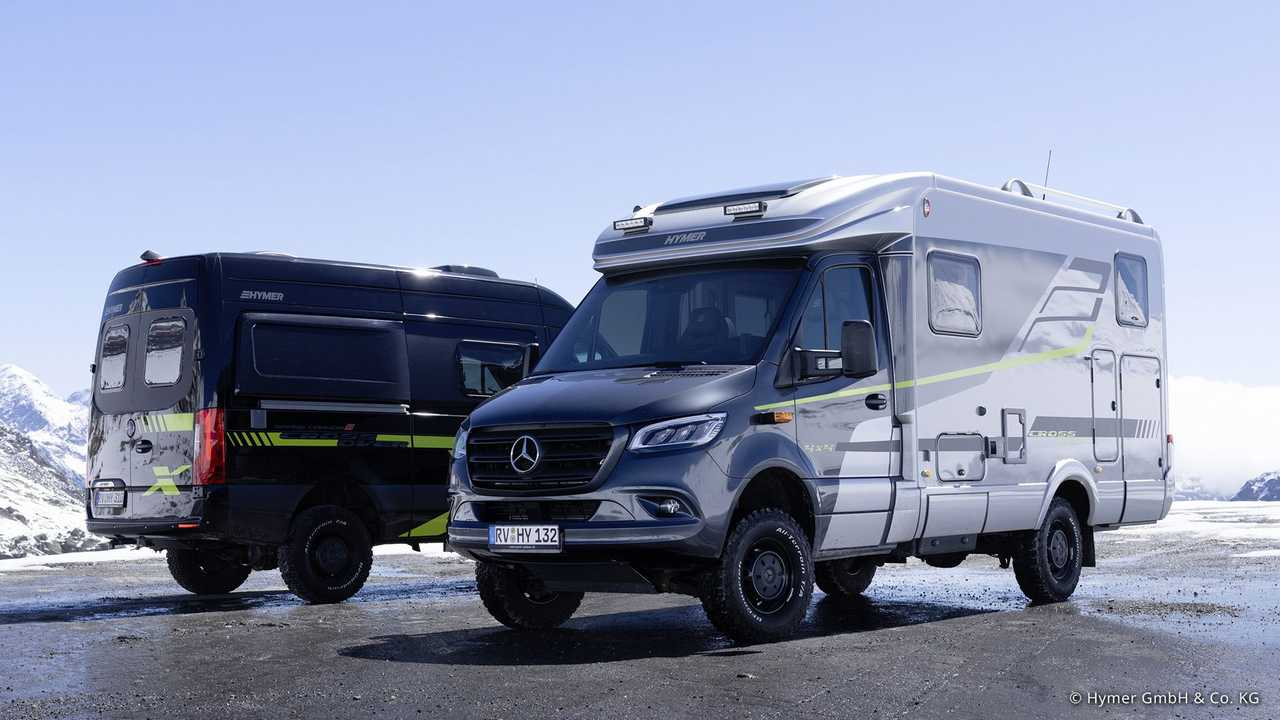 Hymer ML-T 570 'CrossOver' y Hymer Grand Canyon S 'CrossOver'