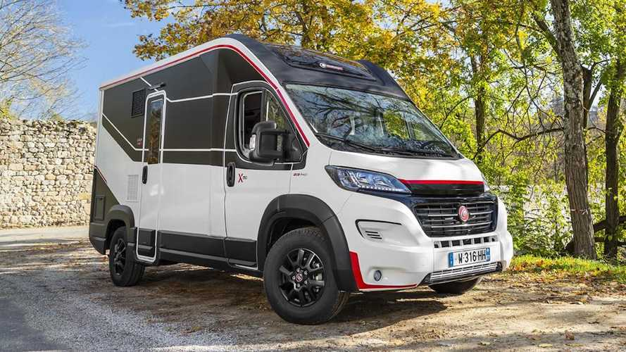 Challenger Combo offers motorhome living space in a compact package