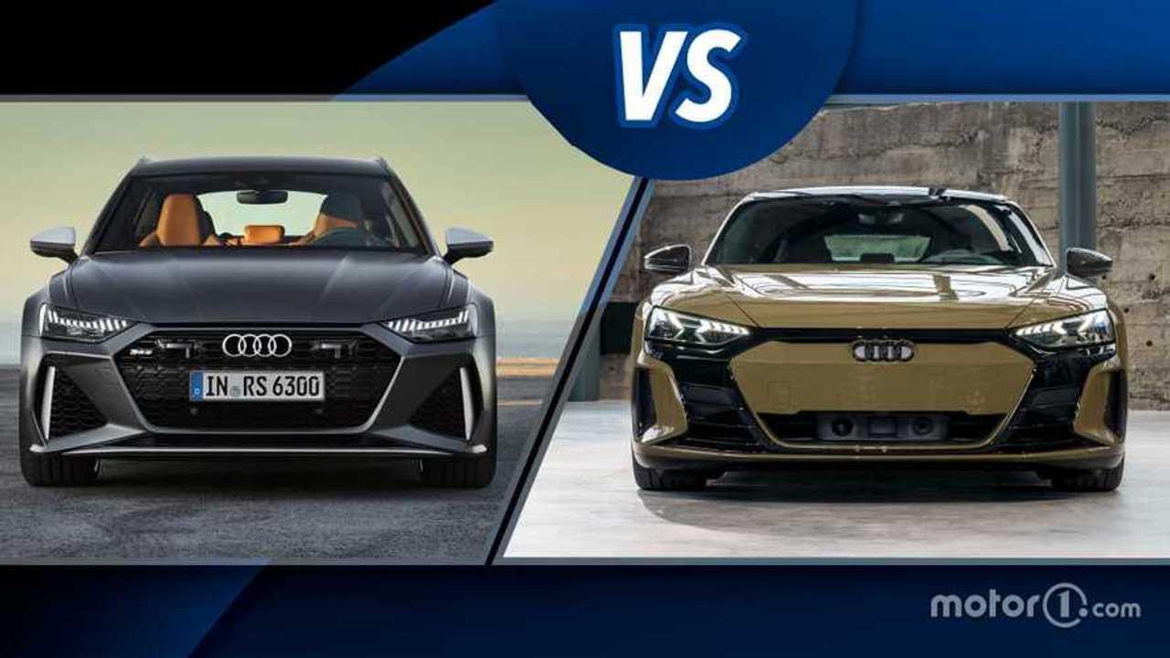 Audi RS 6 Avant vs Audi RS e-tron GT