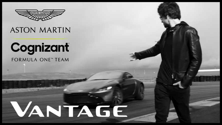 Így gyűri Lance Stroll az Aston Martin Vantage-t Silverstone-ban