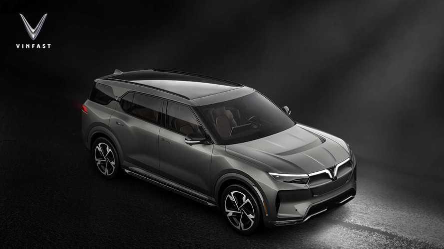 Vietnamesischer Hersteller Vinfast stellt drei Elektro-SUVs vor