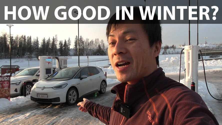 Volkswagen ID.3 Electric Hatch Real-World Winter Range Test