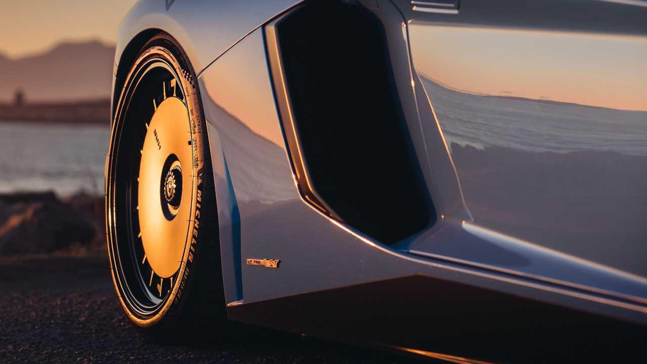 Lamborghini Aventador SV HRE Диски