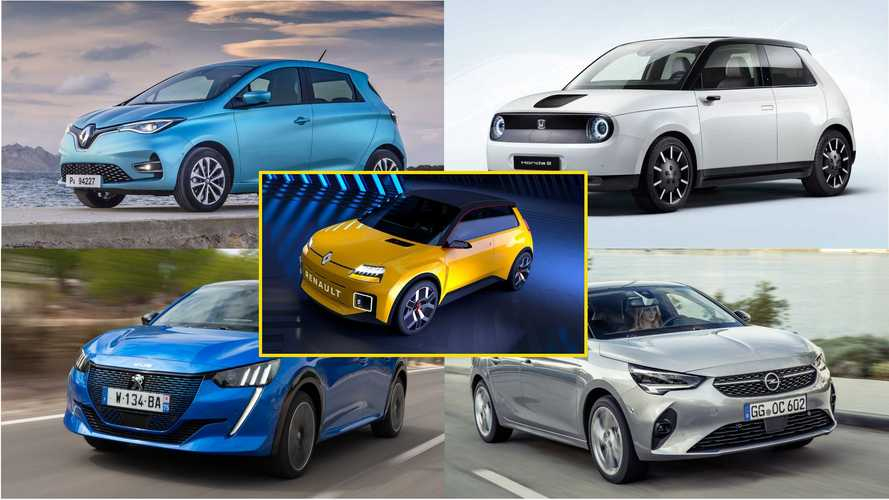 Elektro-Kleinwagen vom Smart Fortwo bis zum Renault 5