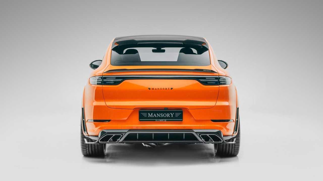 Porsche Cayenne Coupé Turbo par Mansory