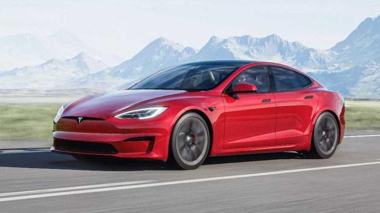 2021 Tesla Model S Plaid Refresh