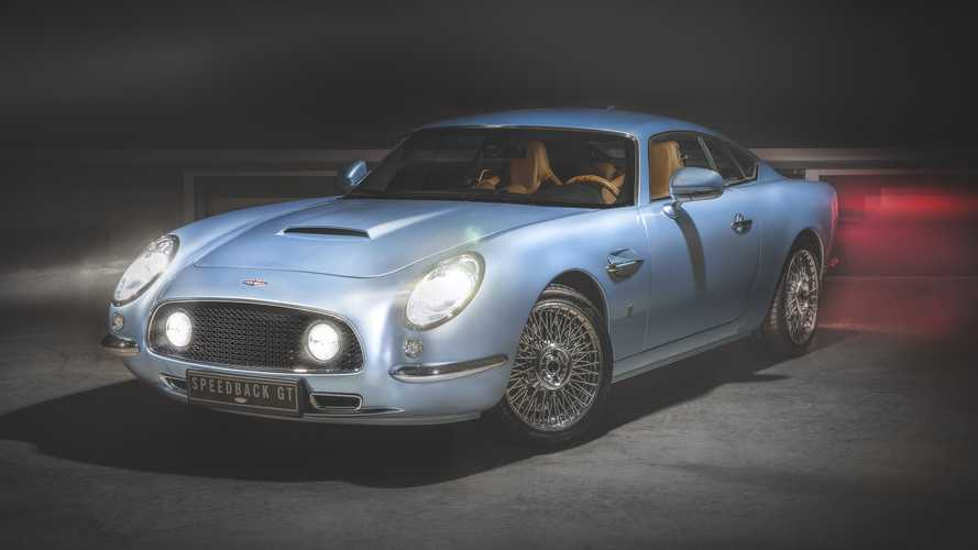David Brown Automotive Speedback GT Blue Moon