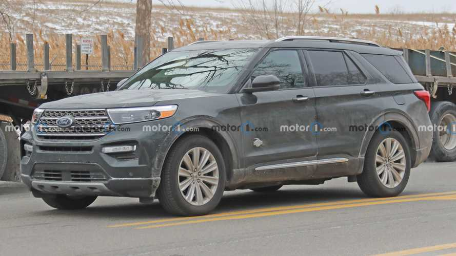 2021 Ford Explorer King Ranch Reveals Its Big Badges In New Spy Photos