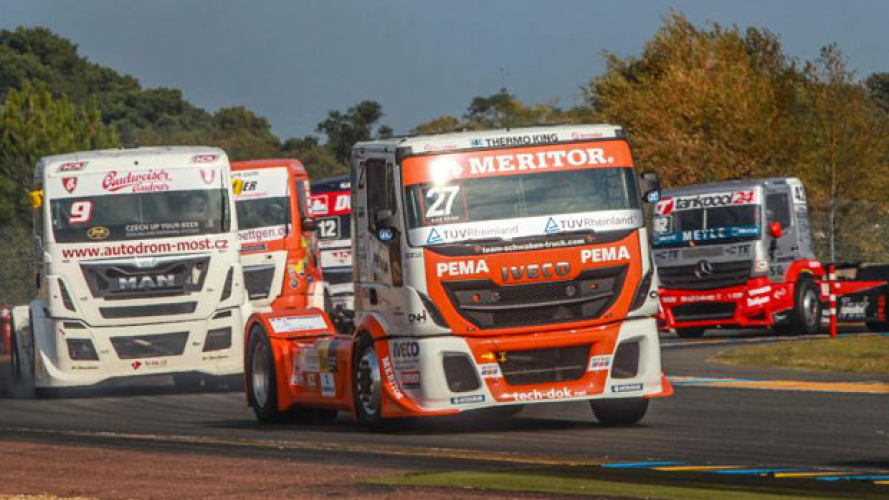 Un Iveco all'European Truck Racing Championship 2016