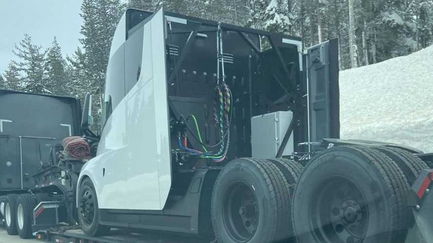 Another New Tesla Semi Prototype Spotted in California