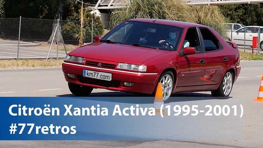 La Citroën Xantia Activa veut donner une leçon au test de l'élan