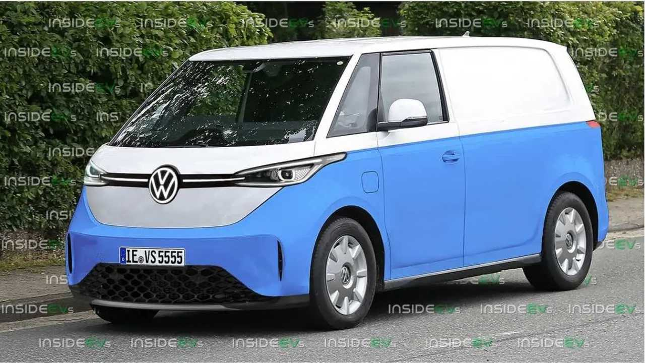 Volkswagen ID Buzz - projeção da Kombi elétrica