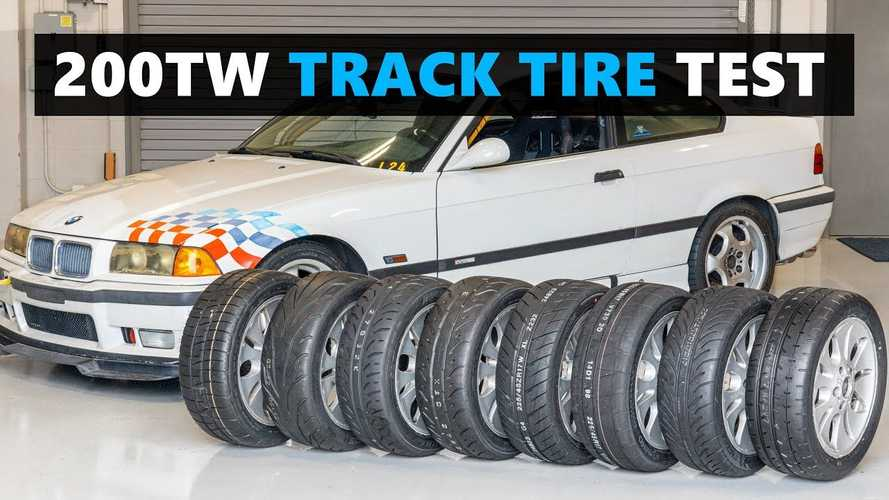 UK: This bonkers track tyre test is the most detailed we've ever seen