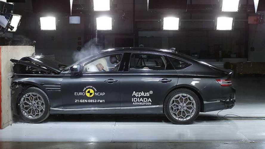 Genesis G80, i crash test Euro NCAP