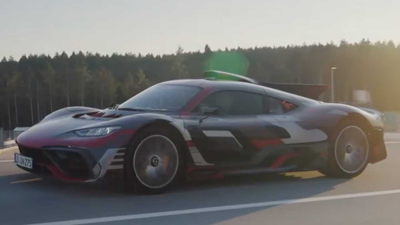 Mercedes-AMG Project One On The Road