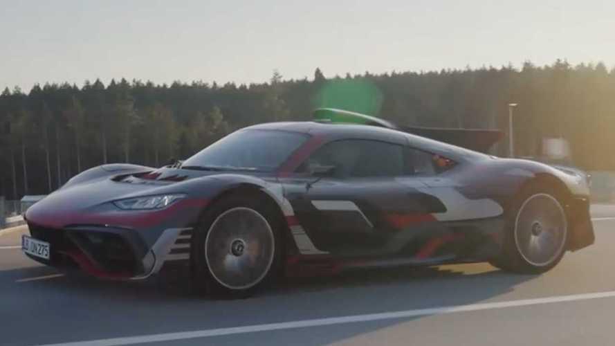 Vidéo - La Mercedes-AMG One de sortie sur route ouverte