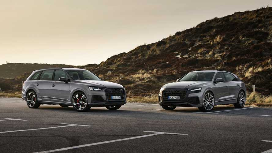 Audi Competition Plus Pack Adds Style To A4, A5, Q7, And Q8