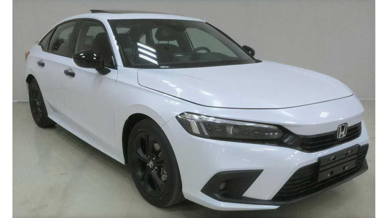 2022 Honda Civic Sedan production version for China