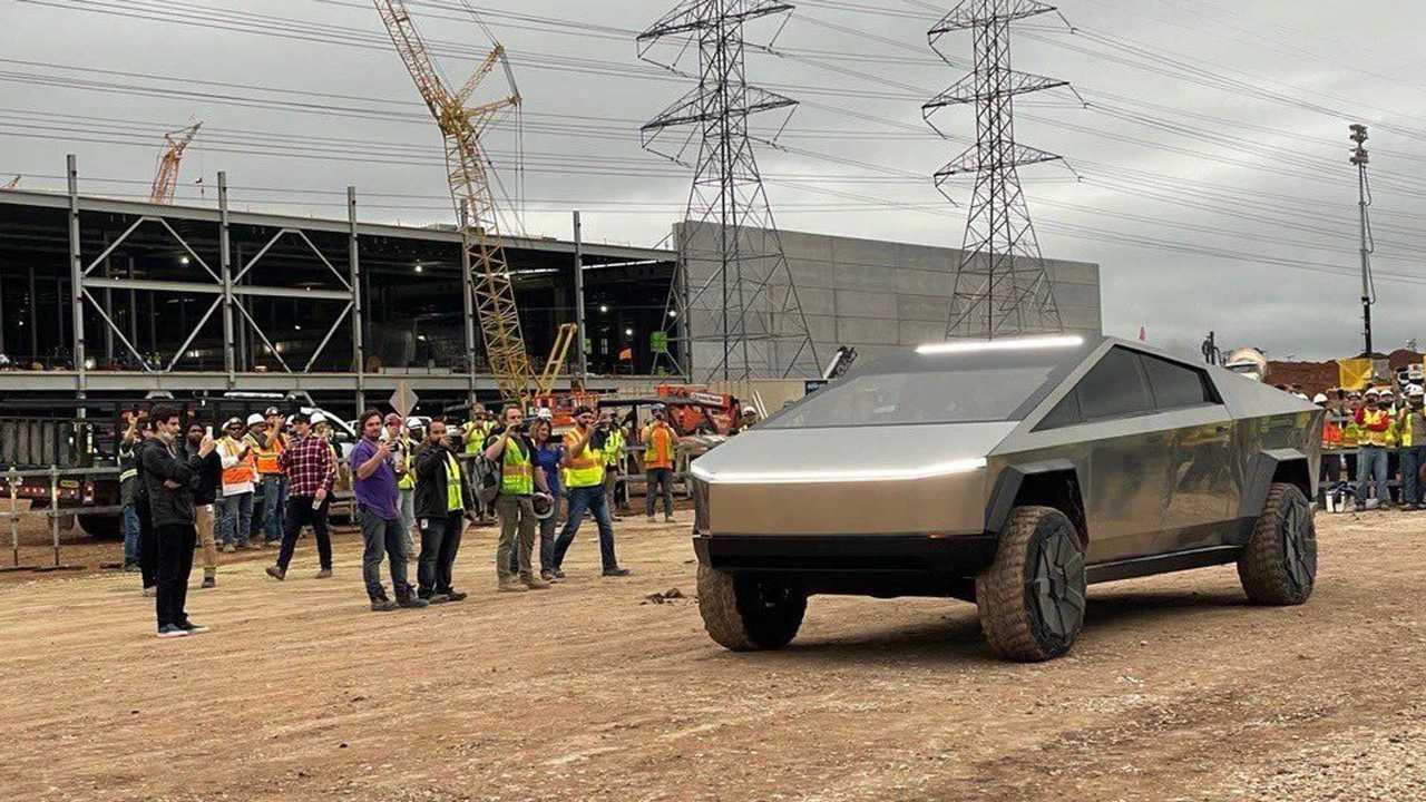 Tesla Cybertruck at Giga Texas