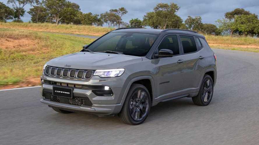 Recém-lançado, Jeep Compass 2022 já fica até R$ 11.000 mais caro
