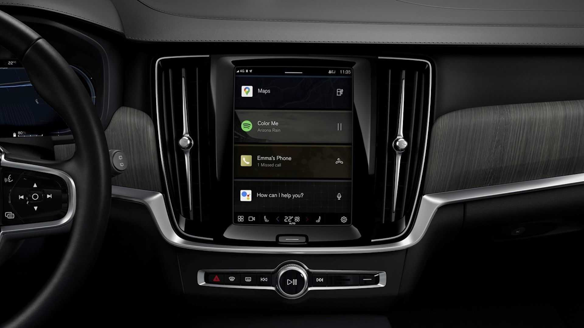 Volvo Cars With Android-Powered Infotainment