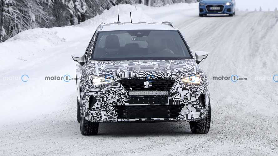 SEAT Arona facelift new spy photos