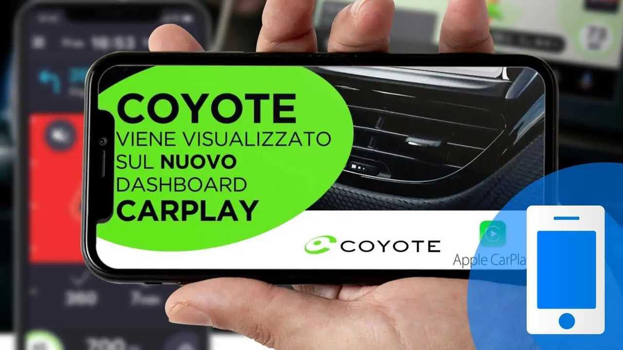 app Coyote Android Auto CarPlay autovelox