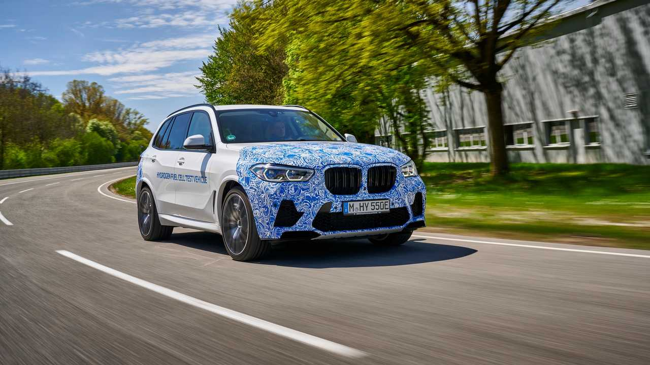 Hidrojen Yakıtlı BMW X5 Prototipi