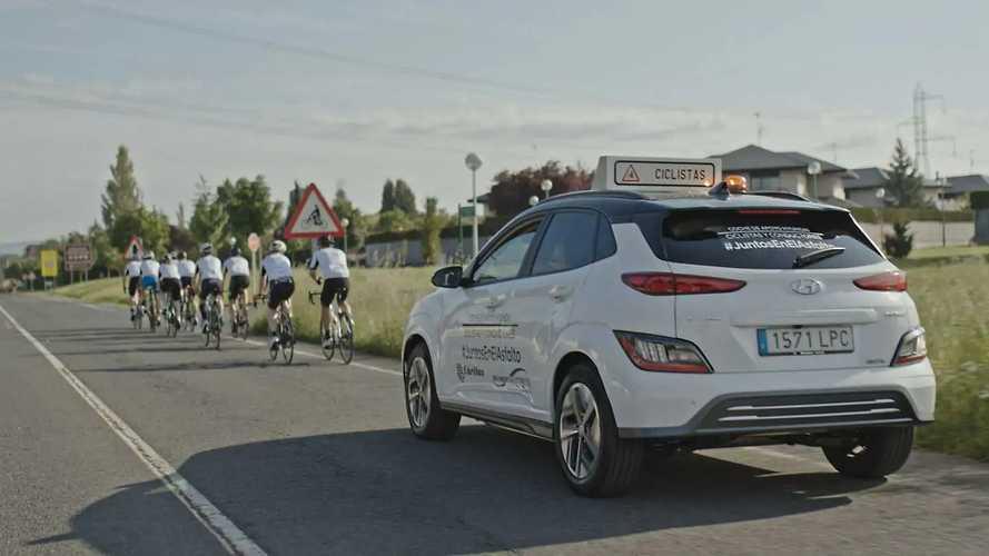 Hyundai renueva su apoyo al ciclismo con #JuntosEnElAsfalto
