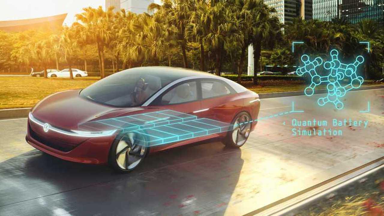 Una simulazione di Volkswagen sull'applicazione dell'informatica quantistica alle batterie