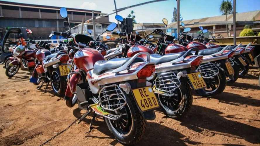 Rwanda Seeks To Convert Gas-Powered Motorcycles To Electric