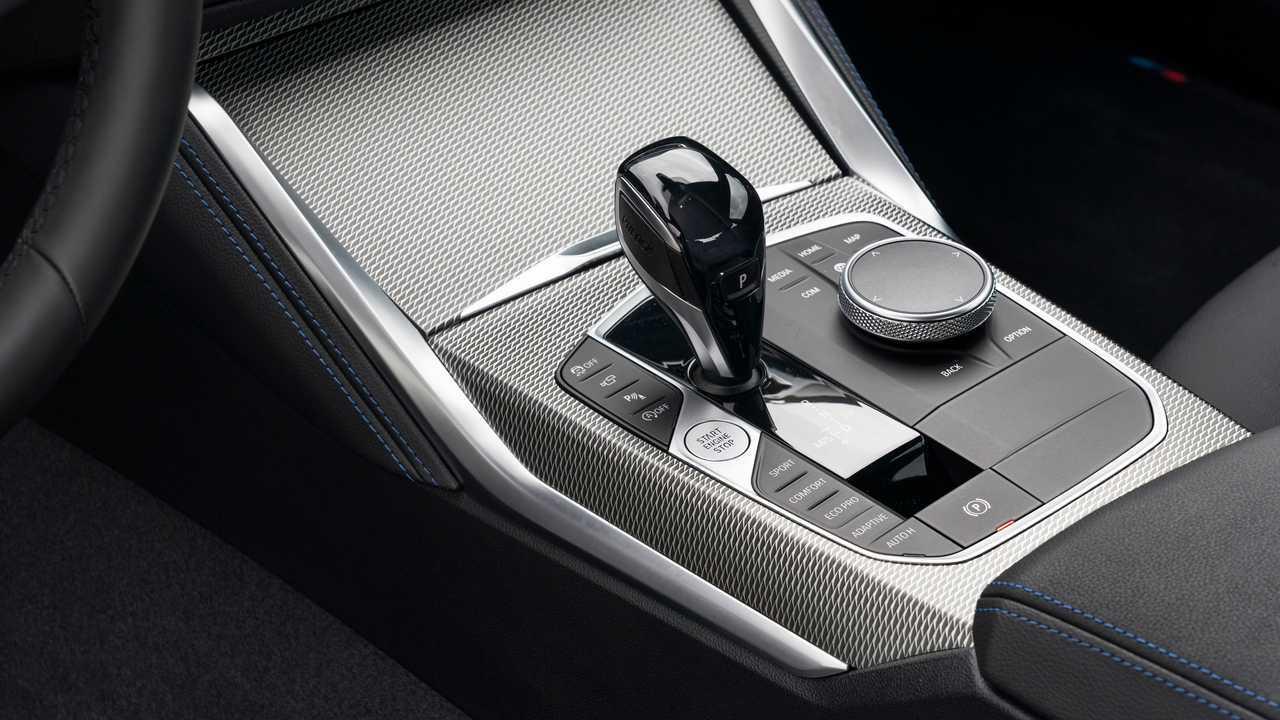 2022 BMW M240i Interior Shift Selector