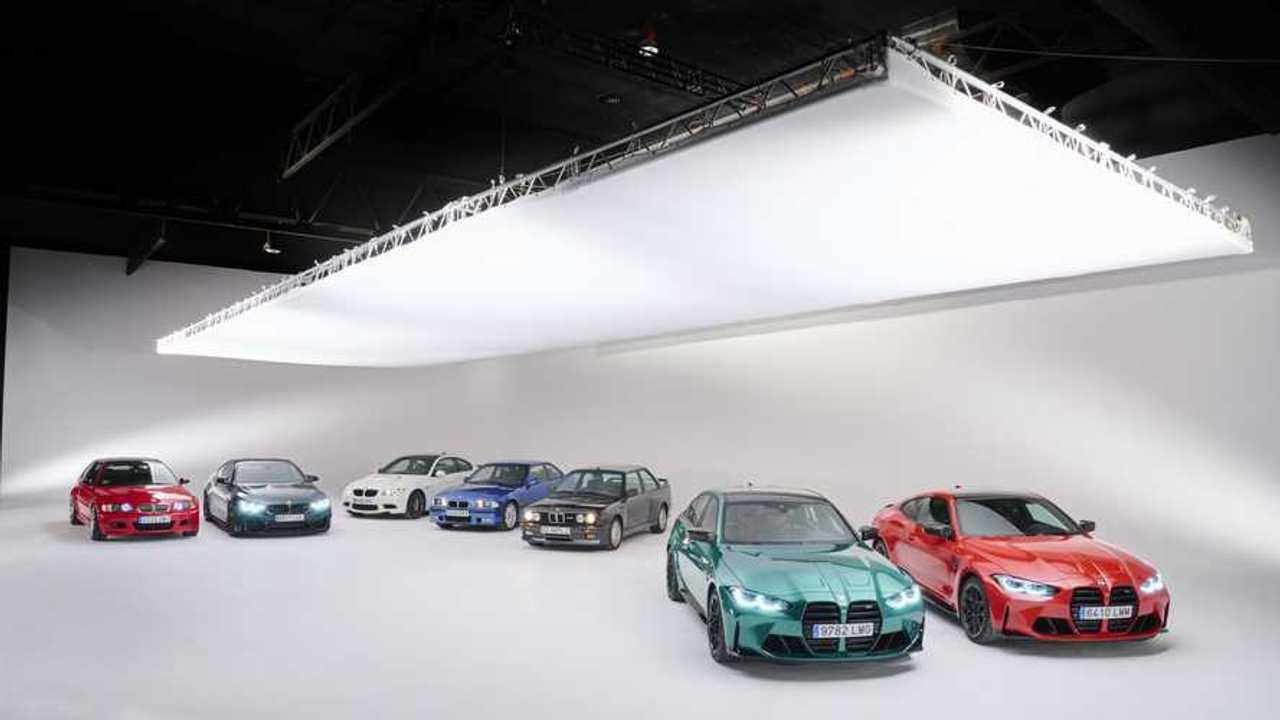 Todas las generaciones del BMW M3/M4