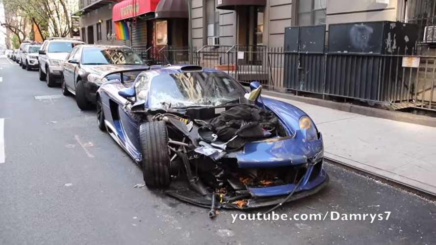 Le chauffard de la Gemballa Mirage GT folle de New York relaxé