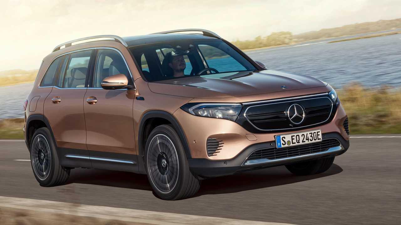Mercedes stellt den EQB vor