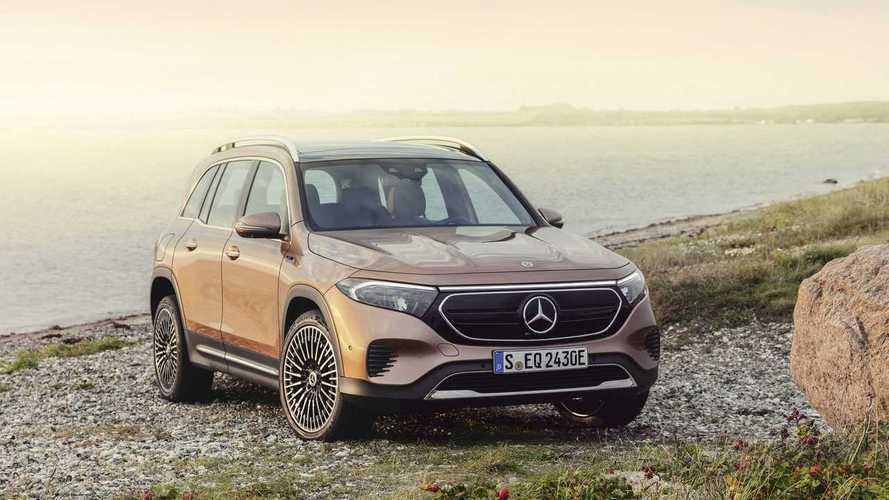 Mercedes EQB, il SUV elettrico a 7 posti