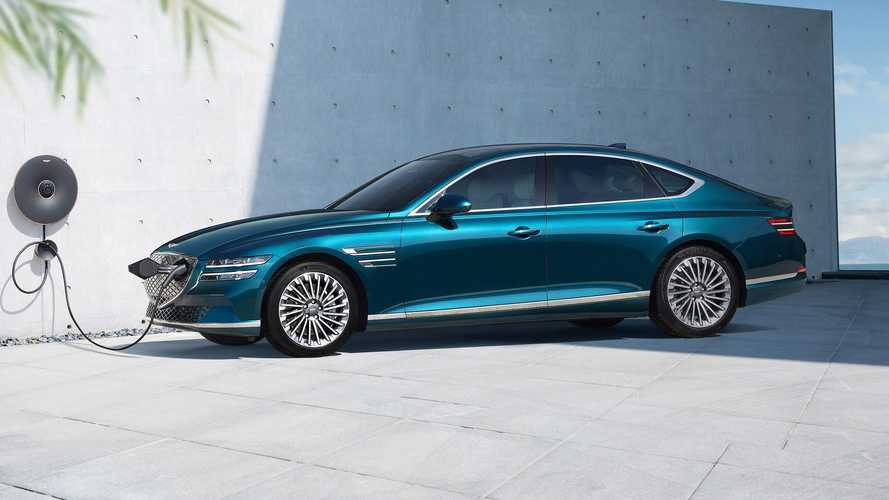 Genesis enters EV era with electrified G80 featuring solar roof