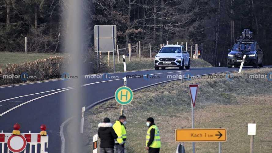 Hyundai Kona N Kamuflajsız Casus Fotoğrafları